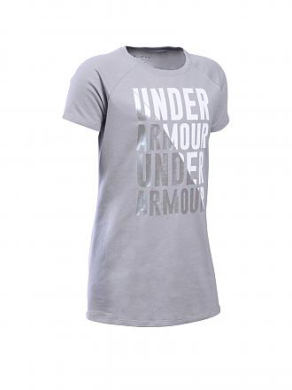 UNDER ARMOUR | Kinder T-Shirt Favorite | grau