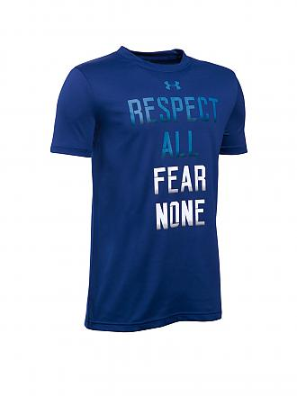 UNDER ARMOUR | Kinder T-Shirt Fear None | blau