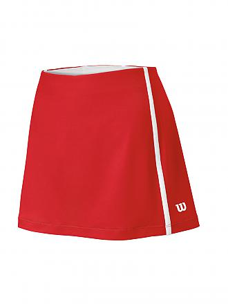 WILSON | Damen Tennisrock Team | rot