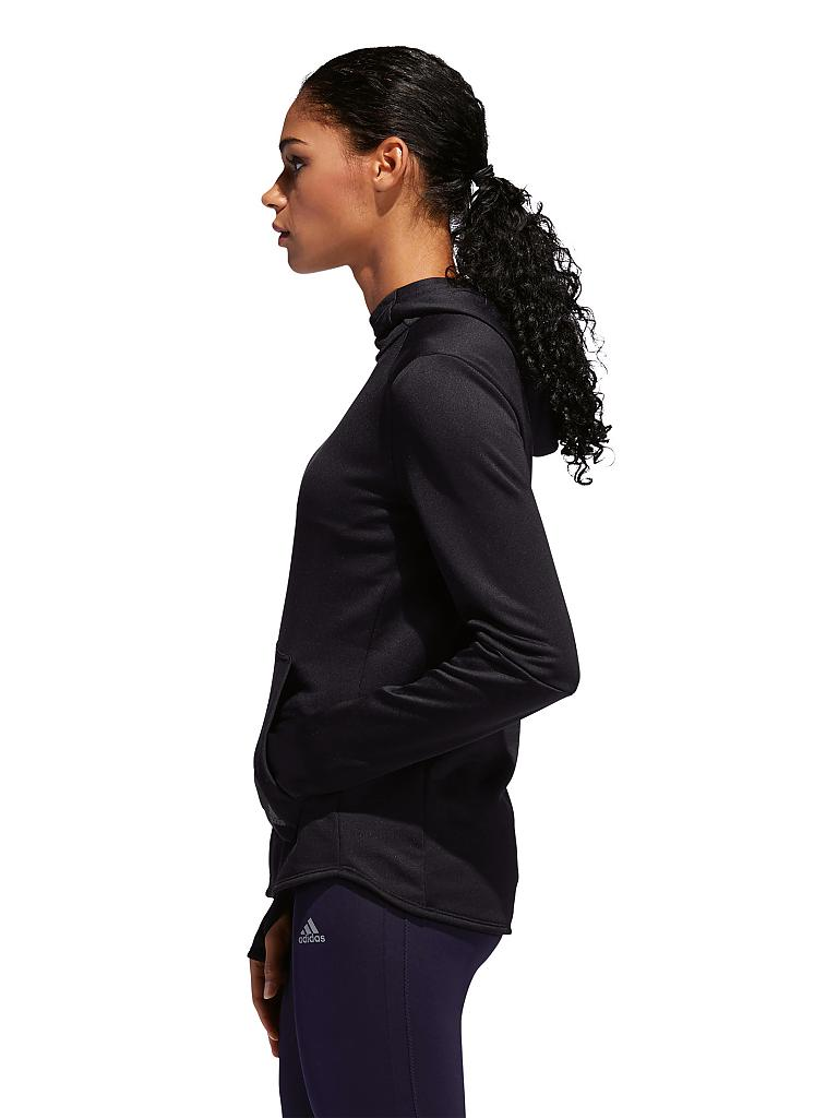 ADIDAS Damen Laufhoodie Own the Run schwarz | XS