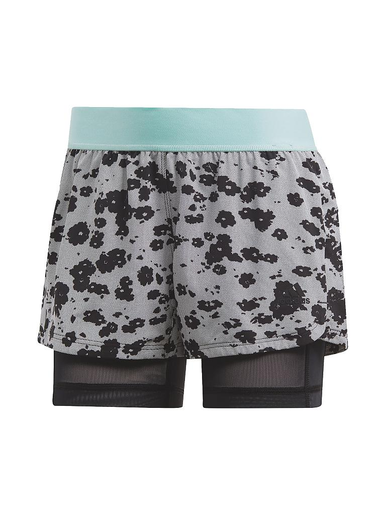 ADIDAS | Damen 2in1 Short Icon | schwarz