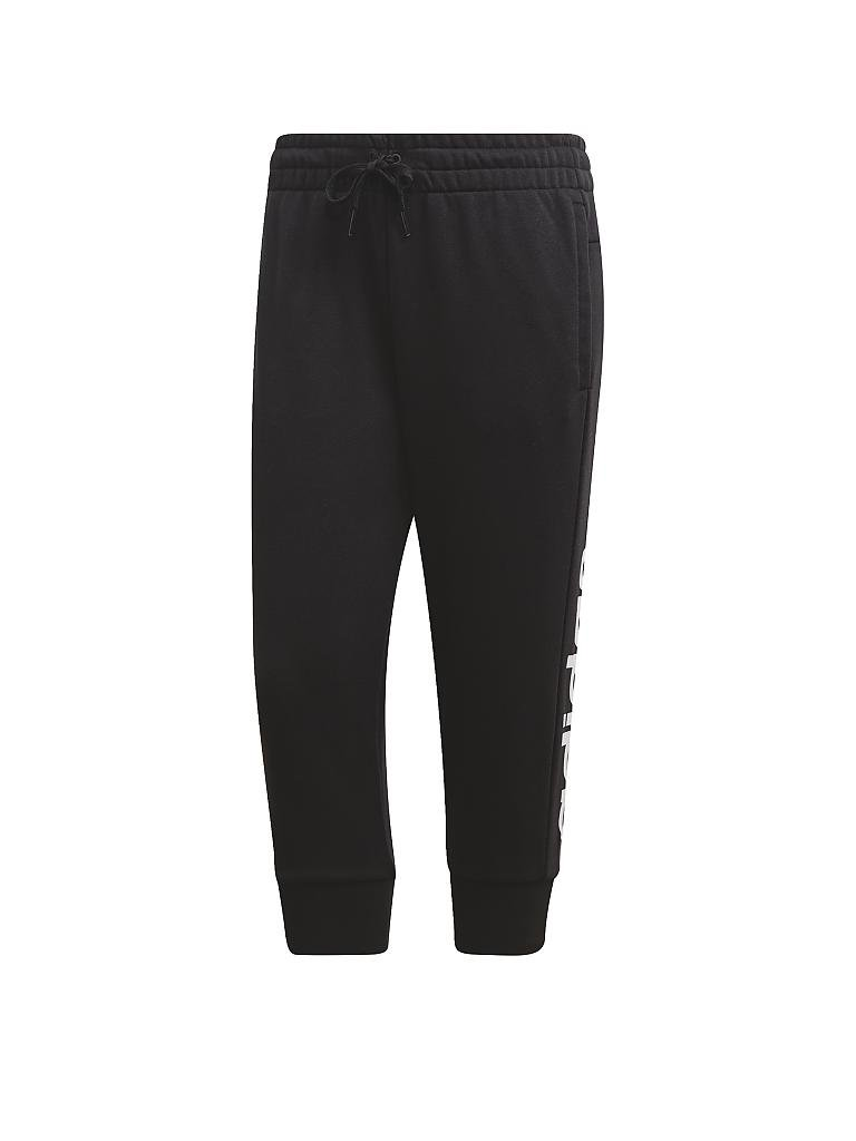 ADIDAS | Damen 3/4 Hose Essentials Linear | schwarz