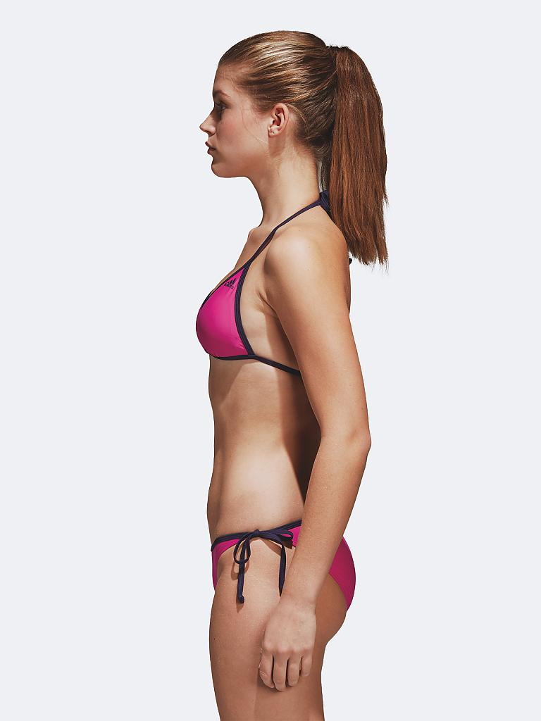 adidas damen bikini solid beach rosa 34. Black Bedroom Furniture Sets. Home Design Ideas