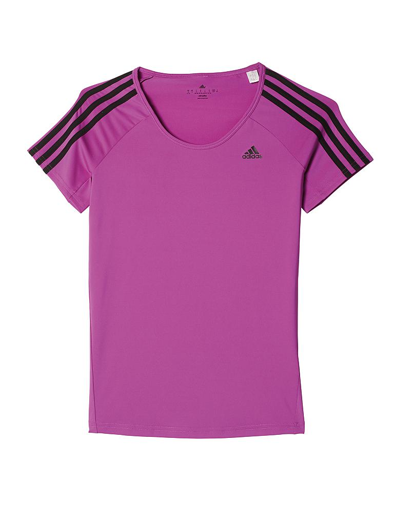 ADIDAS | Damen Fitness-Shirt Basic 3S | lila
