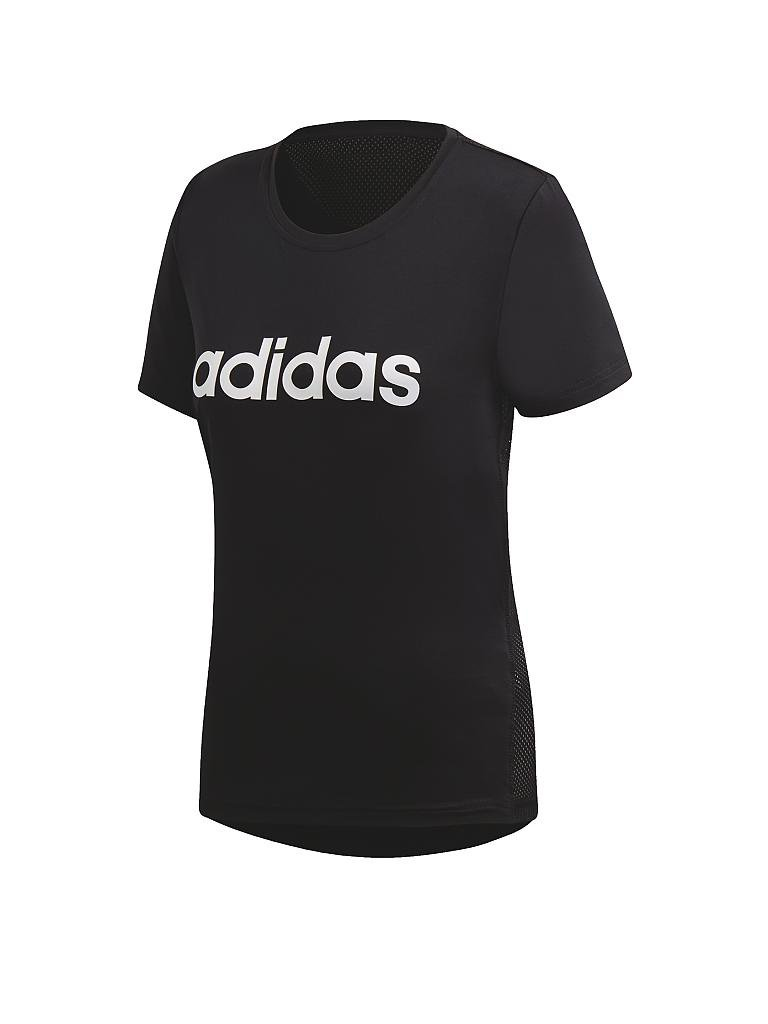 ADIDAS | Damen Fitness-Shirt Design 2 Move Logo | schwarz