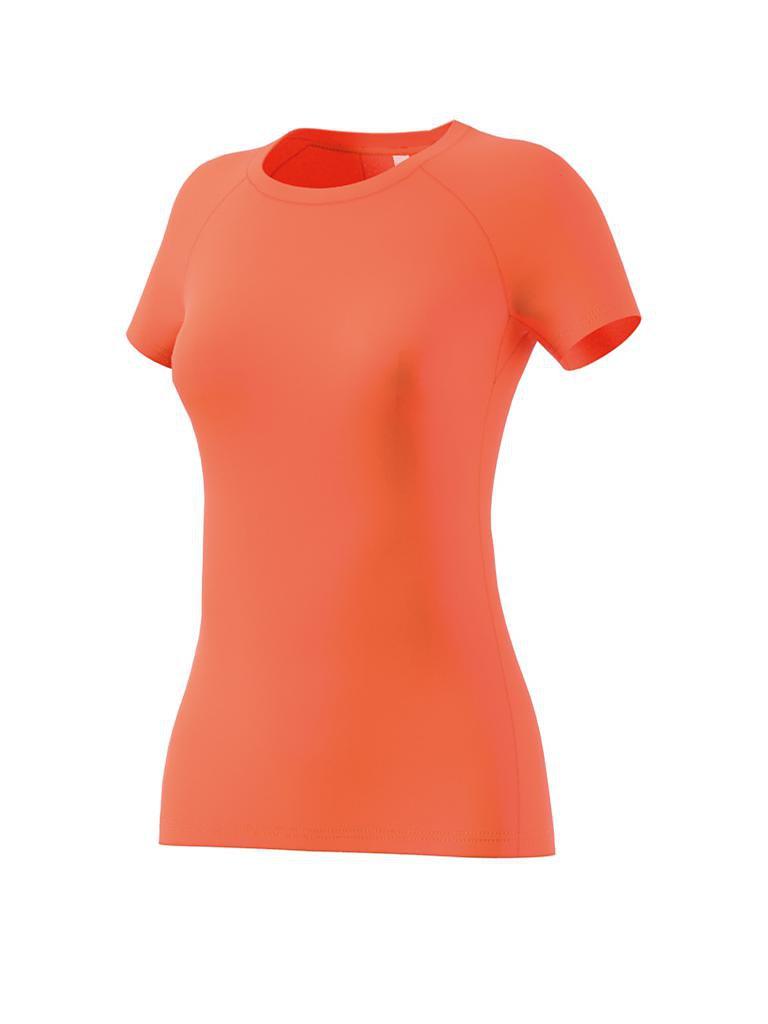 adidas damen fitness shirt speed tee orange s. Black Bedroom Furniture Sets. Home Design Ideas