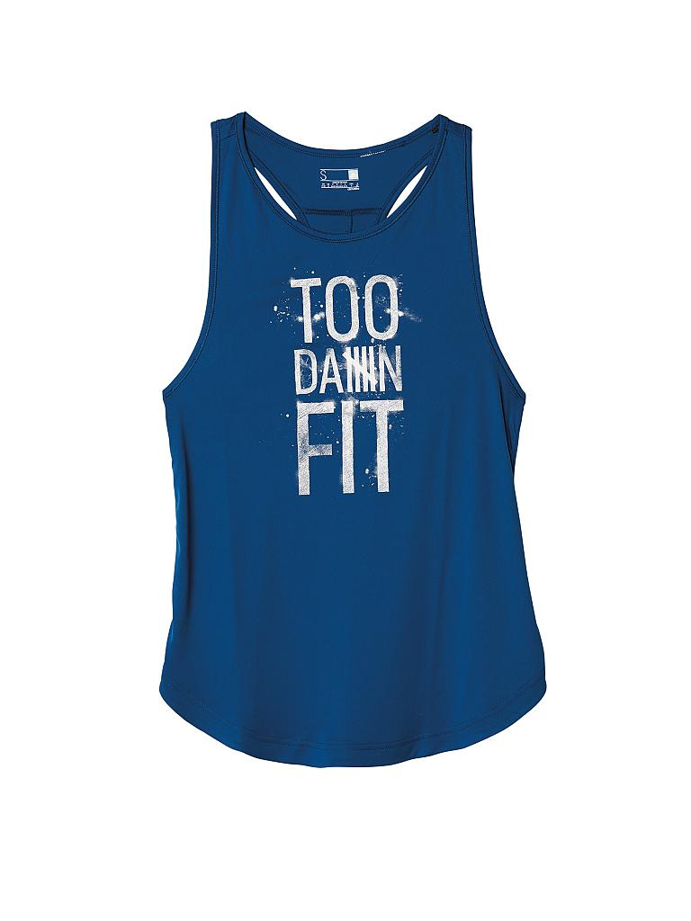 ADIDAS | Damen Fitness-Tanktop Too Fit | blau