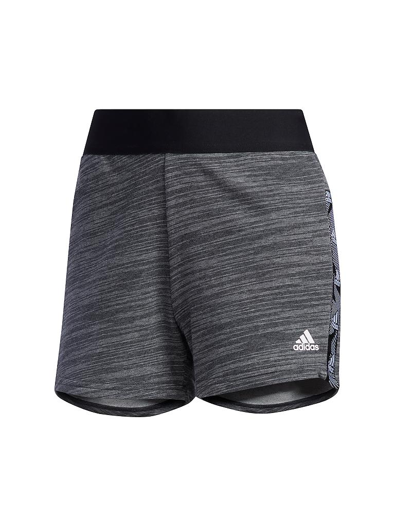 ADIDAS | Damen Fitnessshort Essentials Tape | grau