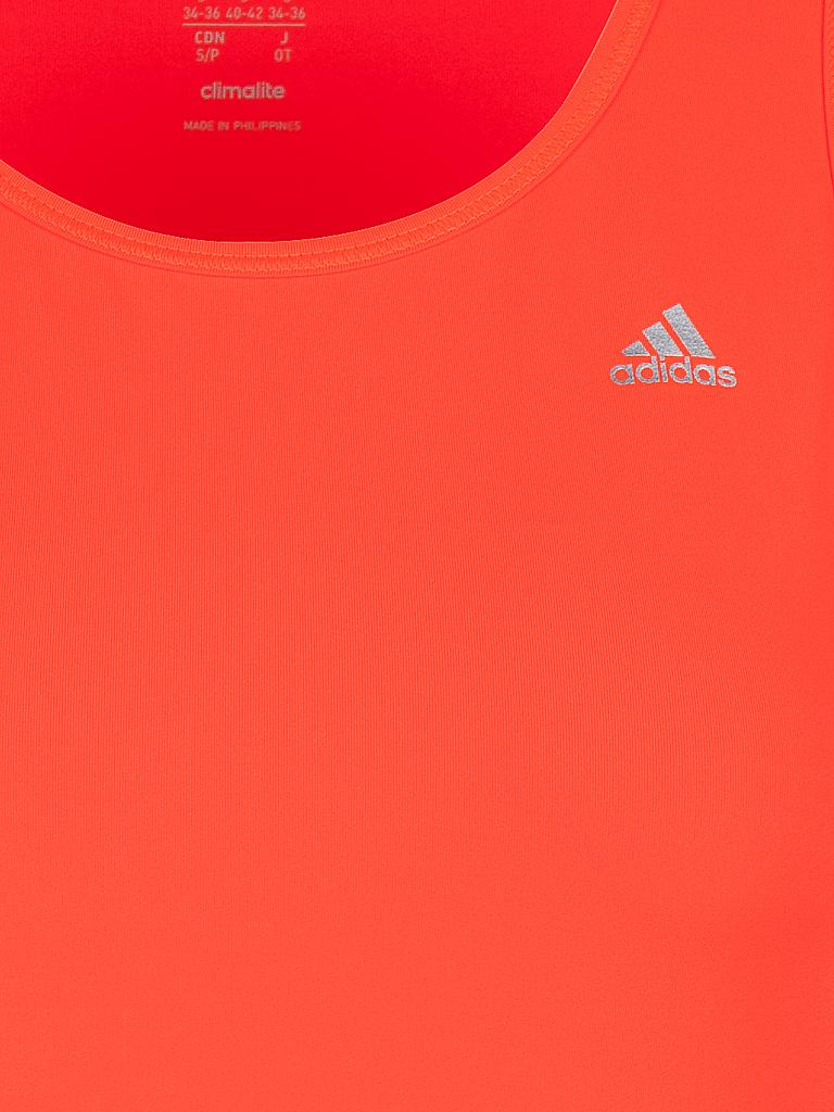 ADIDAS | Damen Fitnesstank | orange