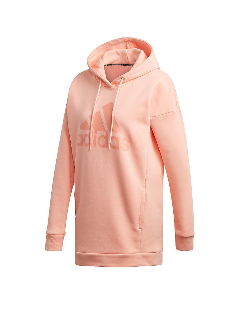 ADIDAS | Damen Hoody Must Haves Badge of Sport | rosa