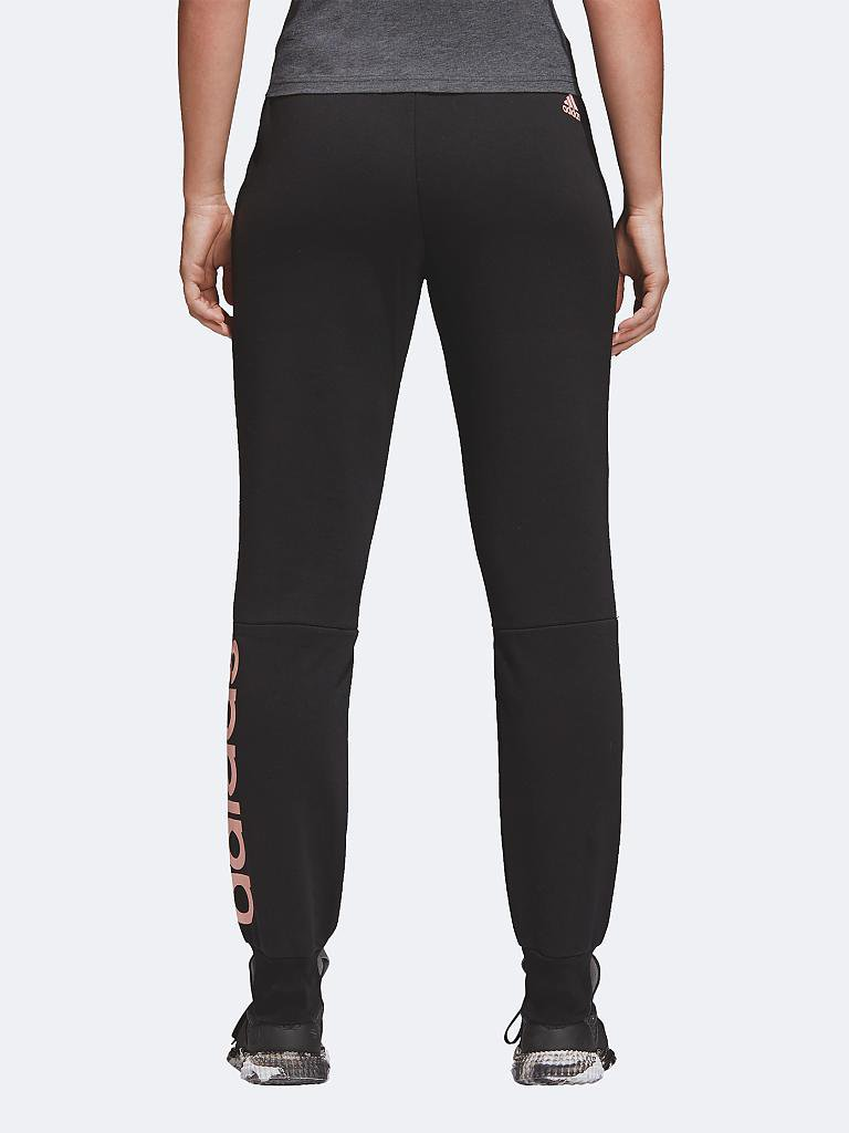 ADIDAS | Damen Hose Essentials Linear | schwarz