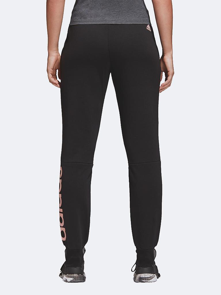 6158295c9ea2dc ADIDAS Damen Hose Essentials Linear schwarz