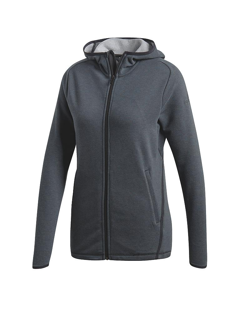ADIDAS | Damen Kapuzenjacke FreeLift Light | grau