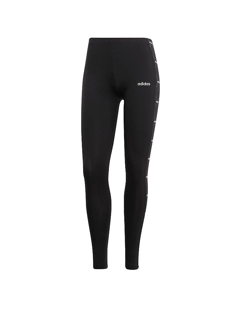 ADIDAS | Damen Legging Linear Graphic | schwarz