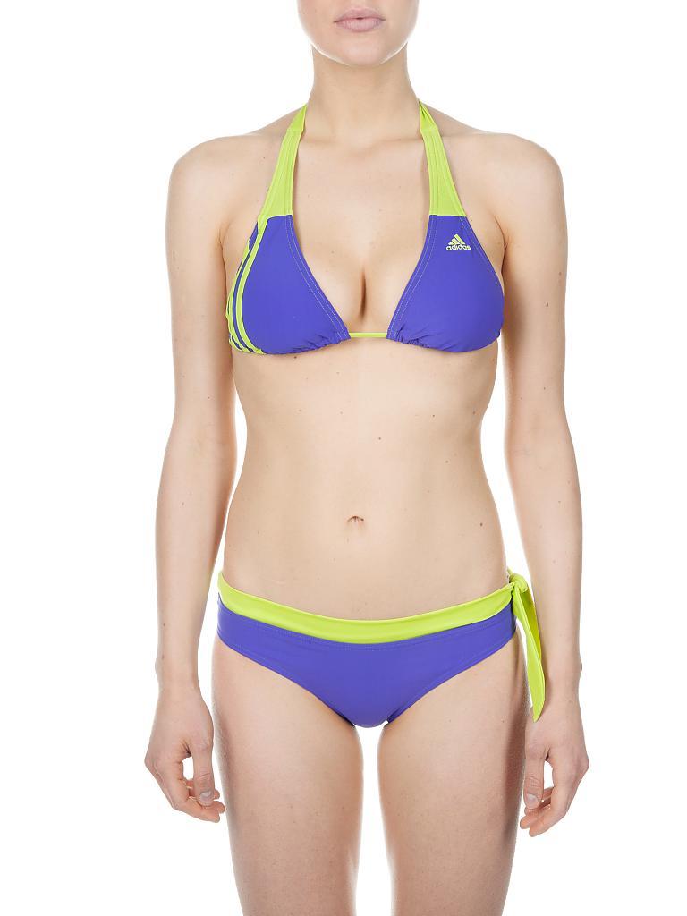 adidas damen neckholder bikini lila 40. Black Bedroom Furniture Sets. Home Design Ideas