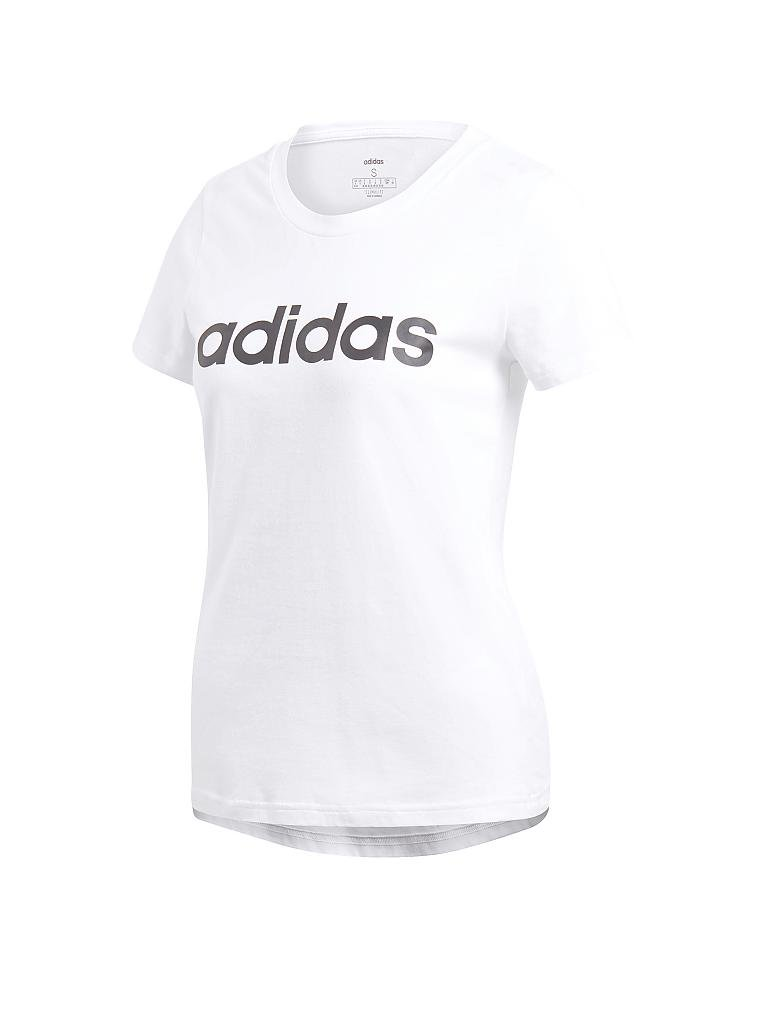 ADIDAS | Damen Shirt Essentials Linear | weiß