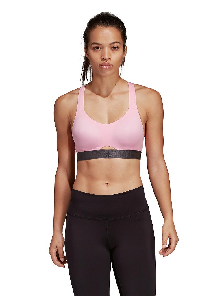 ADIDAS | Damen Sport-BH Stronger For It Soft High Support | rosa