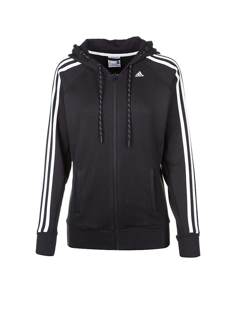 adidas damen sweatjacke schwarz s. Black Bedroom Furniture Sets. Home Design Ideas