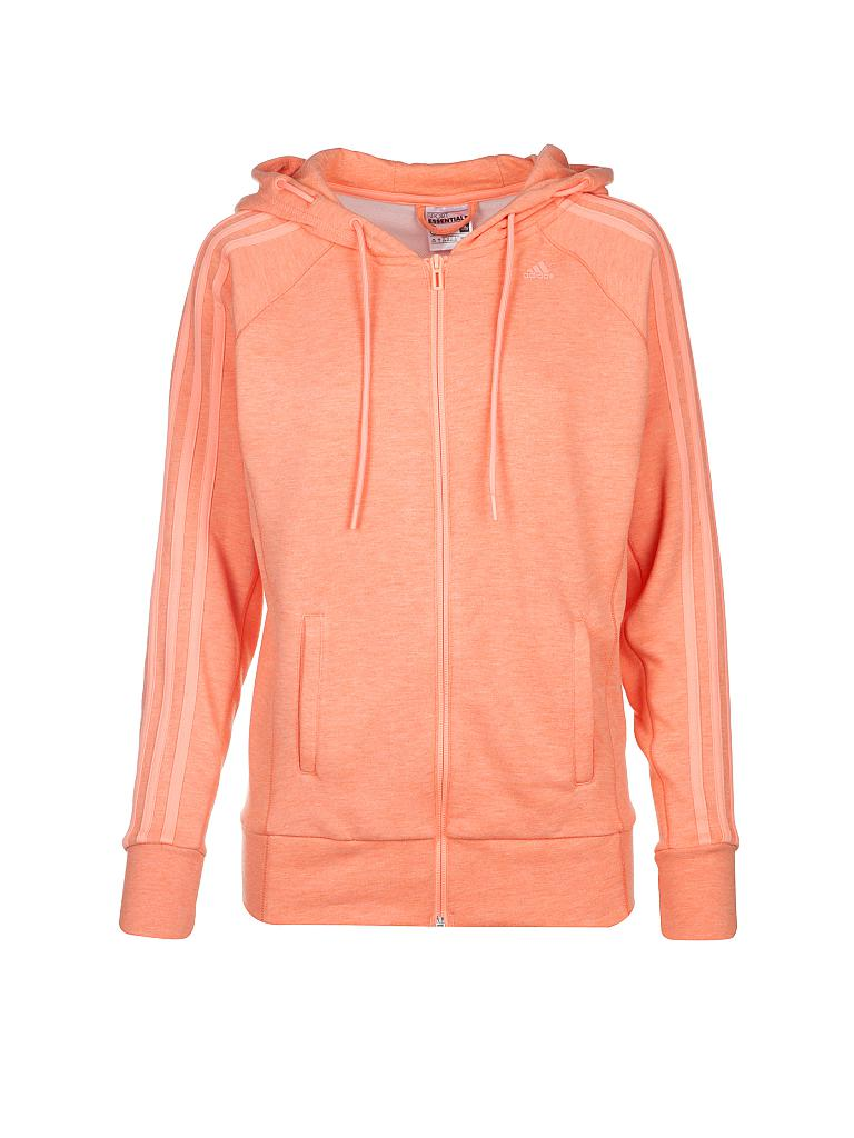 adidas damen sweatjacke orange m. Black Bedroom Furniture Sets. Home Design Ideas