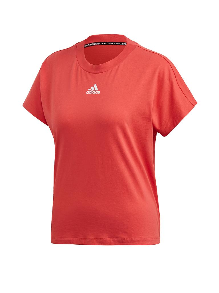 ADIDAS | Damen T-Shirt Loose Must Have 3S | rot