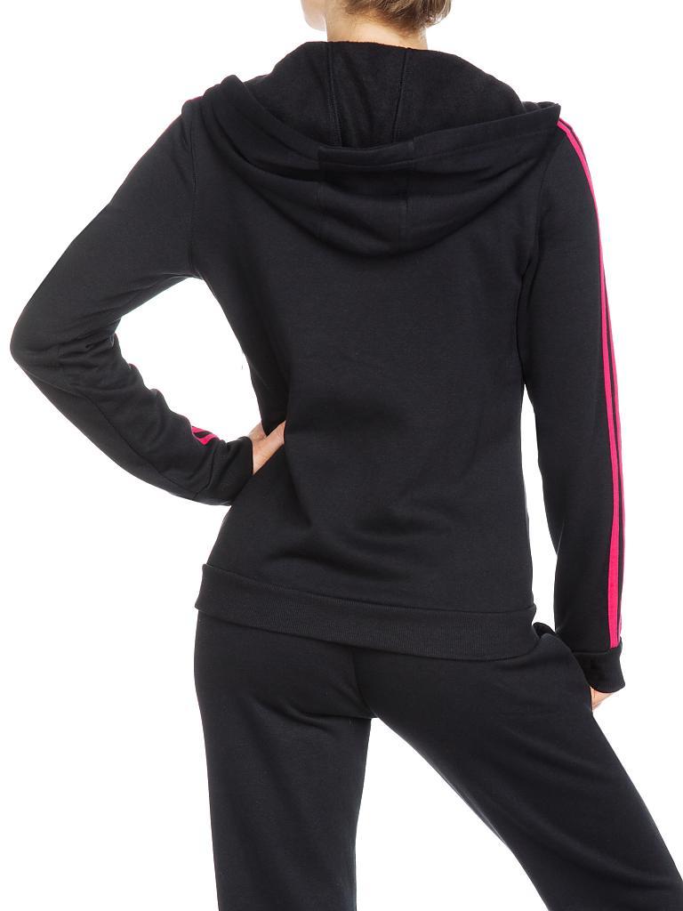 adidas damen trainings anzug mit kapuze zeno cotton suit. Black Bedroom Furniture Sets. Home Design Ideas