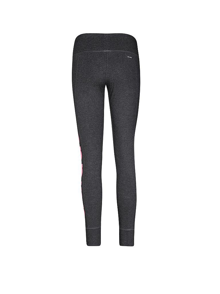 ADIDAS | Damen Trainings-Leggings Linear | grau