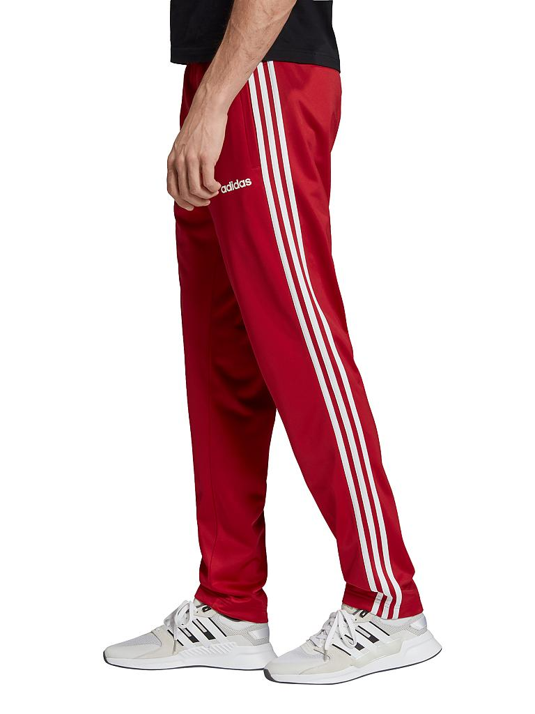 Herren Trainingshose Essentials 3 Stripes Tapered Tricot