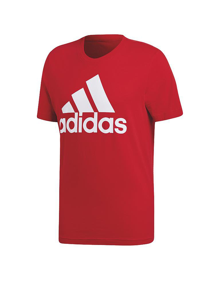 ADIDAS | Herren  T-Shirt Essentials Linear | rot