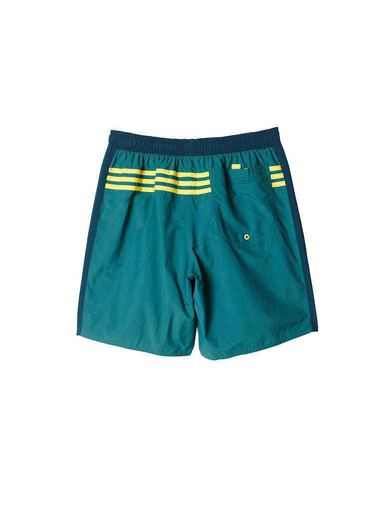 ADIDAS | Herren Badeshorts Performance Colourblock | grün