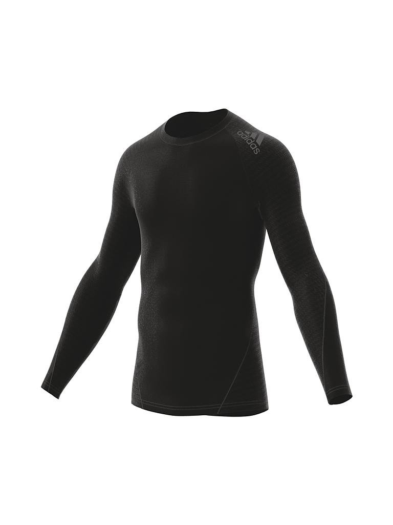 adidas herren fitness shirt alphaskin tech schwarz s. Black Bedroom Furniture Sets. Home Design Ideas