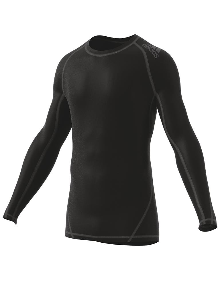 adidas herren fitness shirt alphaskin schwarz s. Black Bedroom Furniture Sets. Home Design Ideas