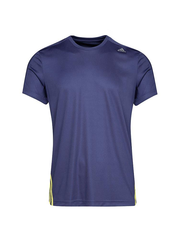 adidas herren fitness shirt base mid blau xl. Black Bedroom Furniture Sets. Home Design Ideas