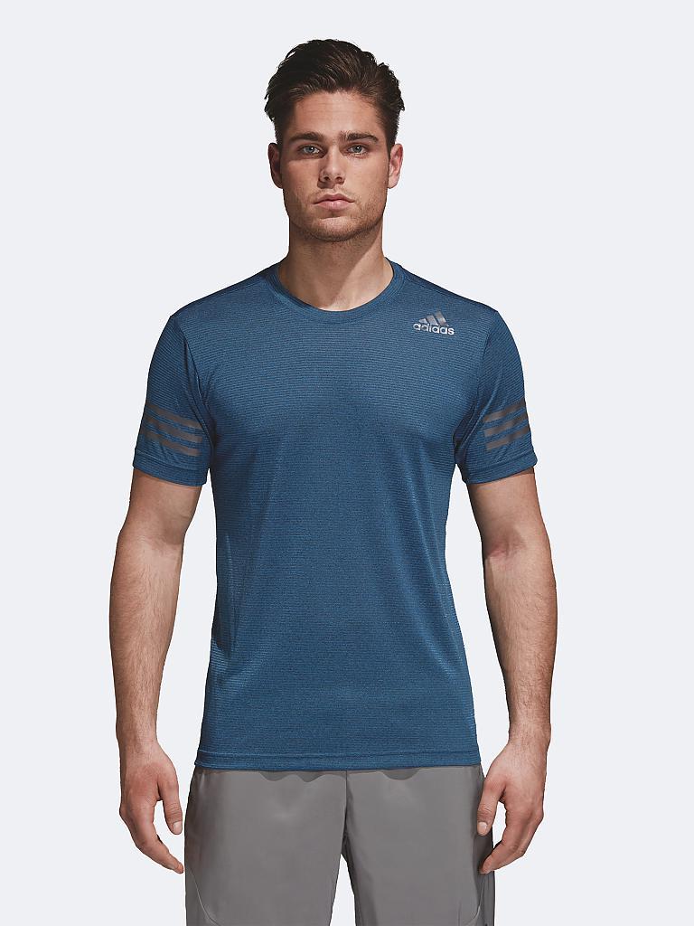 adidas herren fitness shirt freelift climacool blau s. Black Bedroom Furniture Sets. Home Design Ideas