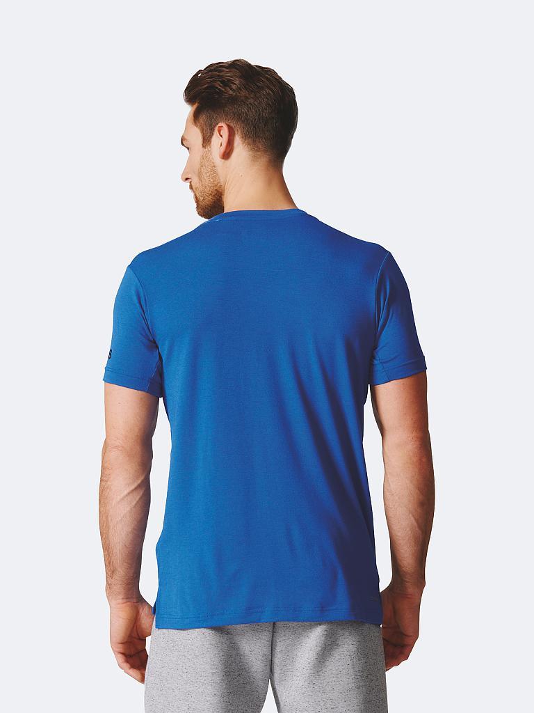 adidas herren fitness shirt freelift prime blau s. Black Bedroom Furniture Sets. Home Design Ideas
