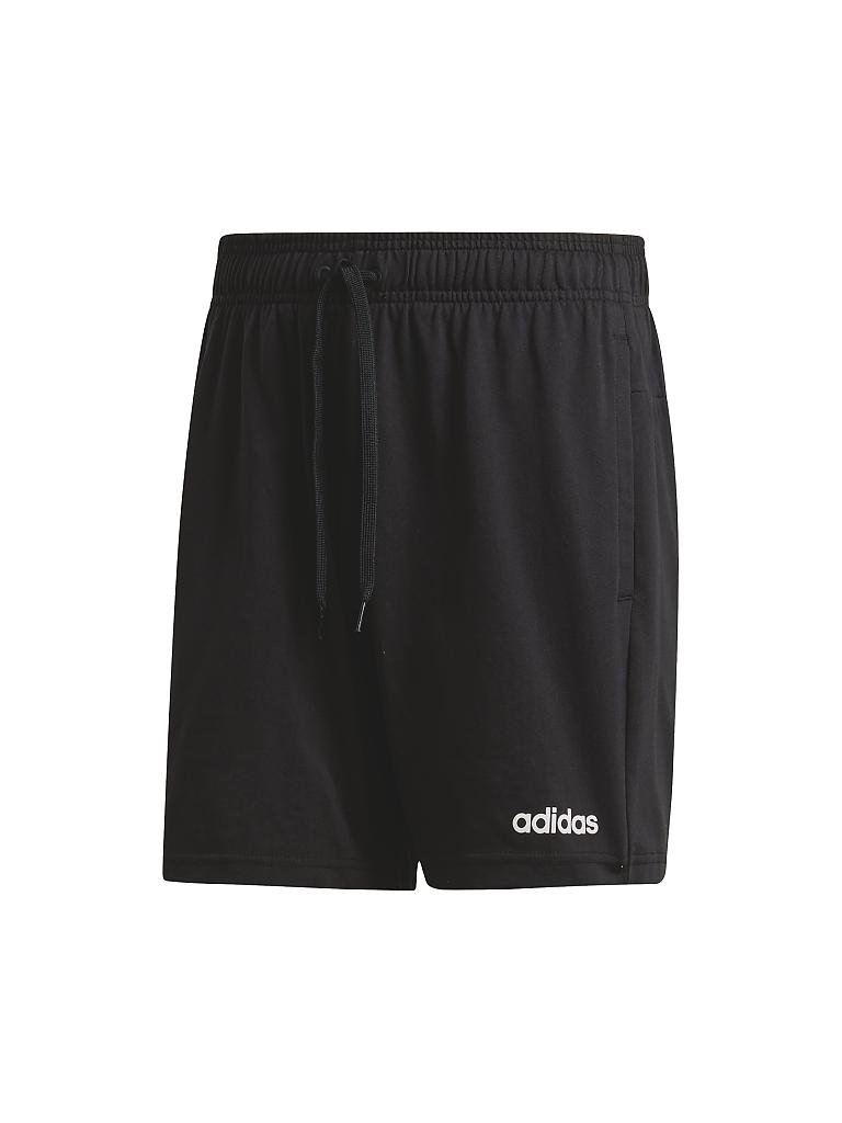 ADIDAS | Herren Fitness-Shorts Essentials Plain Single Jersey | schwarz