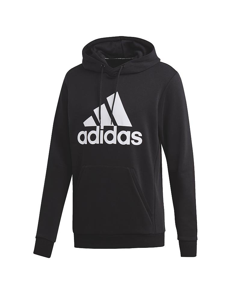ADIDAS | Herren Hoodie Must Haves Badge of Sport | schwarz