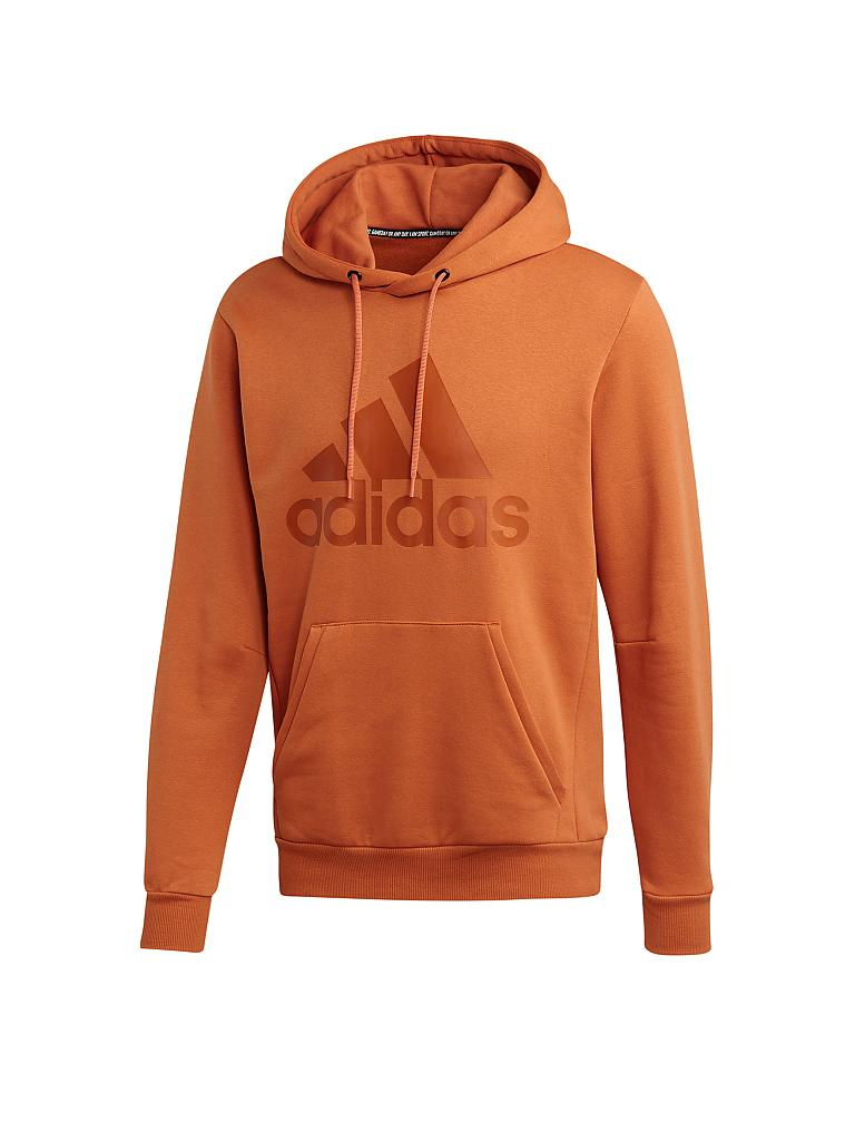 ADIDAS | Herren Hoodie Must Haves Badge of Sport | orange