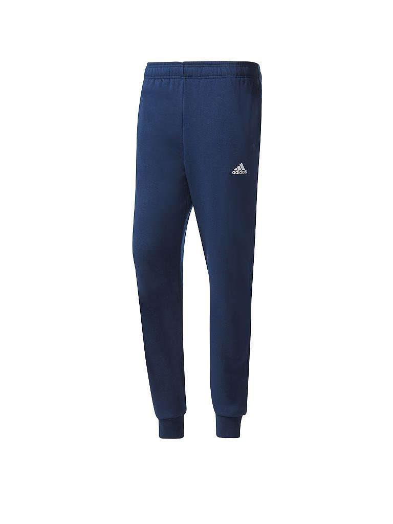 adidas herren jogginghose essential ft blau s. Black Bedroom Furniture Sets. Home Design Ideas