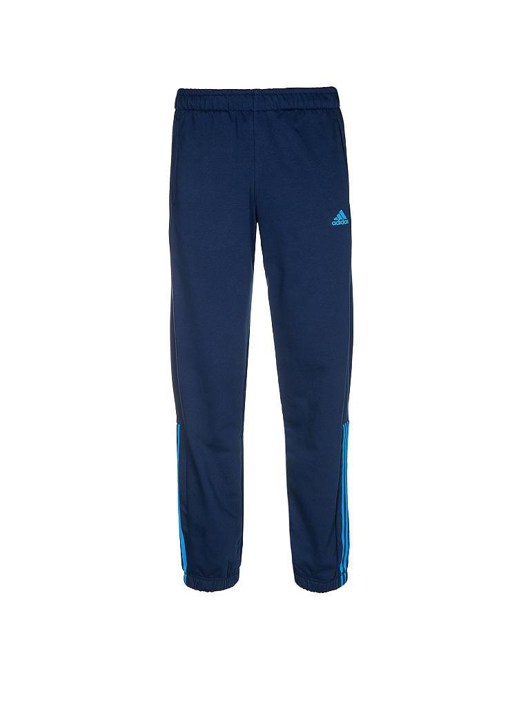 adidas herren jogginghose blau s. Black Bedroom Furniture Sets. Home Design Ideas