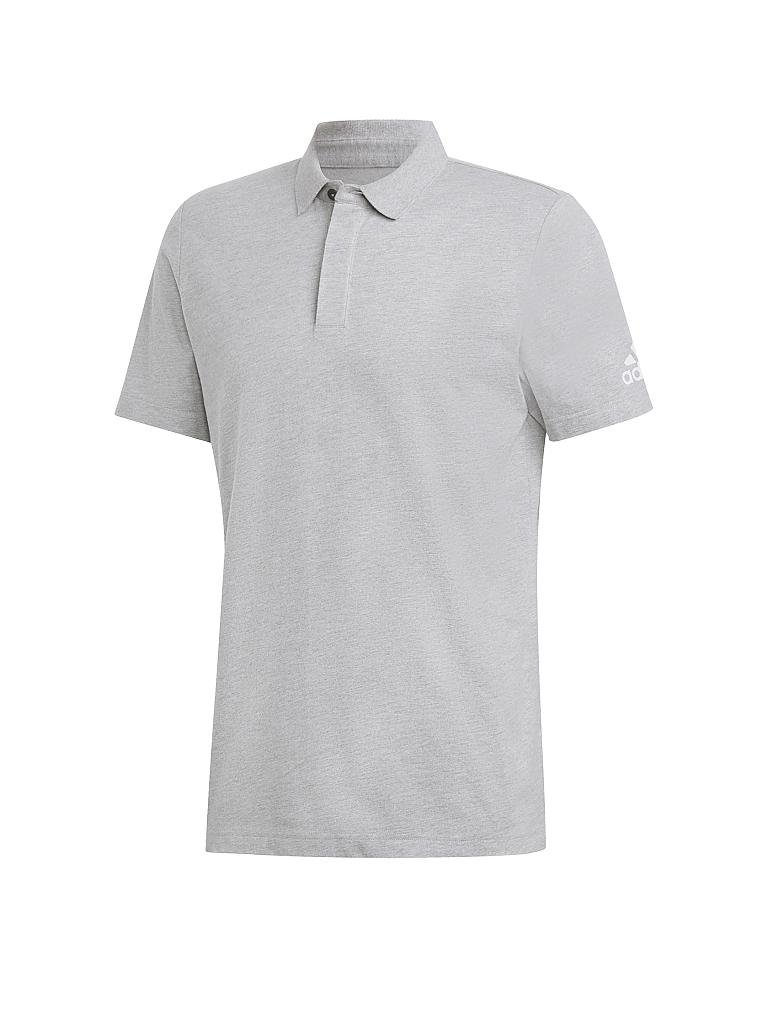ADIDAS | Herren Polo Must Haves Plain | grau