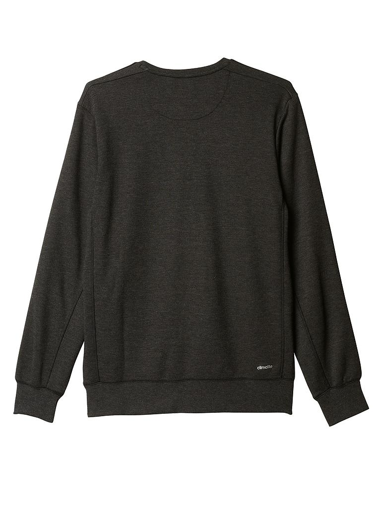 adidas herren rundhals sweater grau s. Black Bedroom Furniture Sets. Home Design Ideas