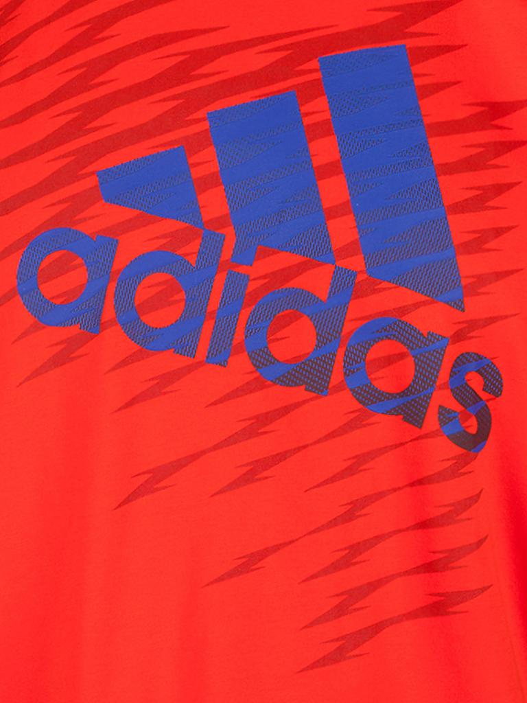 ADIDAS | Herren Shirt Shockwave Logo | orange