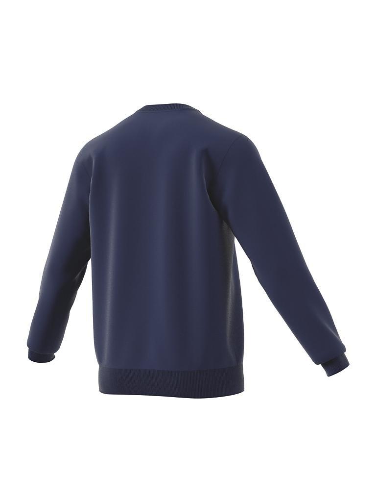 adidas herren sweater crew blau s. Black Bedroom Furniture Sets. Home Design Ideas