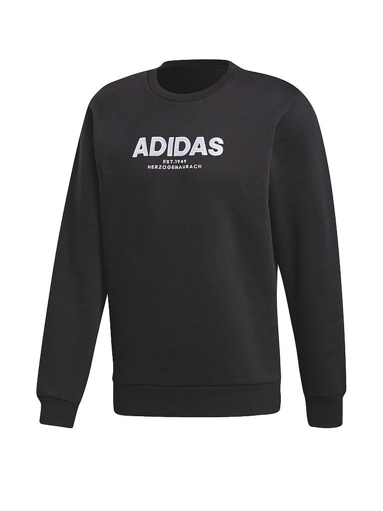 adidas herren sweater essentials schwarz s. Black Bedroom Furniture Sets. Home Design Ideas