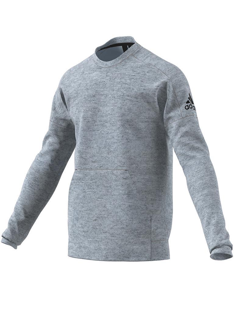 adidas herren sweater id stadium crew grau m. Black Bedroom Furniture Sets. Home Design Ideas