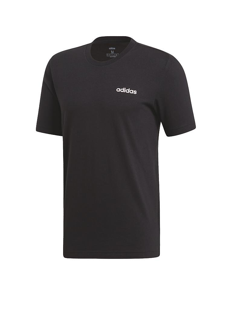 ADIDAS | Herren T-Shirt Essentials Plain | schwarz