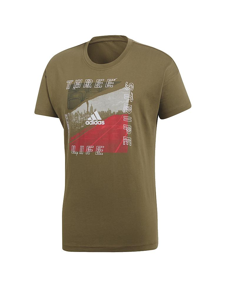 ADIDAS | Herren T-Shirt ID Photo | olive