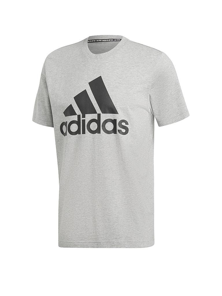 ADIDAS | Herren T-Shirt Must Haves Badge of Sport | grau