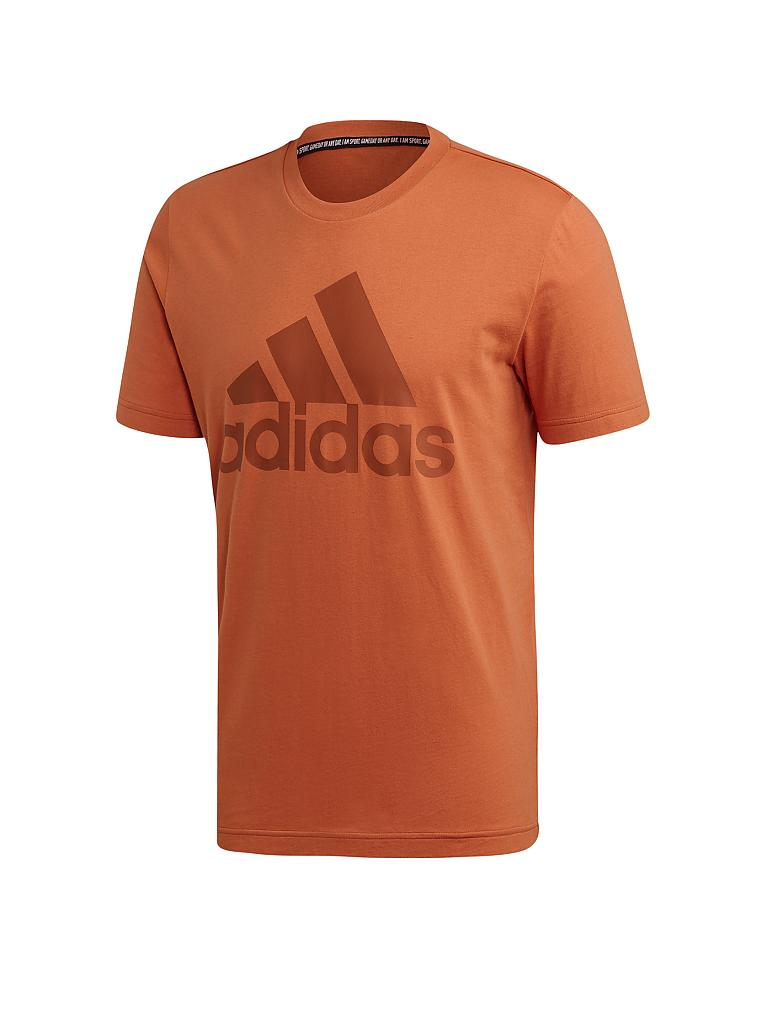 ADIDAS | Herren T-Shirt Must Haves Badge of Sport | orange