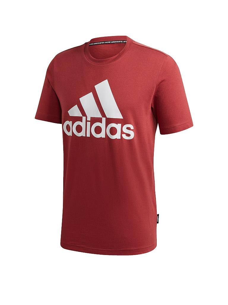 ADIDAS | Herren T-Shirt Must Haves Badge of Sport | rot